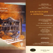 Architecture as Inspiration – A group exhibition of Paintings and Scilptures