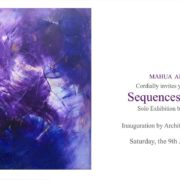 Sequences in Solitude – solo Exhibition by Kadambari Mehta